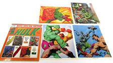Marvel Comics Super Hero Art Portfolio Prints - Incredible Hulk Fastner Larson
