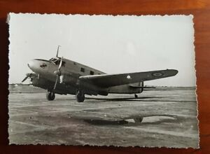 ORIGINAL 1930s-40s French airforce photo - transport aircraft plane 12 x 8.5 cm