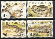 Gambia WWF Nile Crocodile set mnh vf complete 60.00