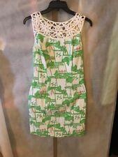 Lilly Pulitzer EUC Lacina Dress Just Add Mint  Sz 2 Free Shipping