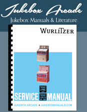 NEW Wurlitzer Lyric W100 and Carillon W160 Jukebox Service Manual and Parts List