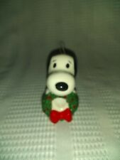 Rare Snoopy Christmas Ornament Must Have For Collection Great condition