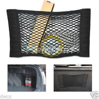Simple Car Back Rear Trunk Seat Elastic String Net Mesh Storage Bag Pocket Cage