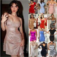New Women's Sexy Bodycon Sleeveless Evening Party Clubwear Nightclub Mini Dress