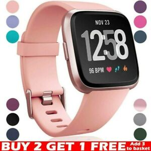 For Fitbit Versa 2 / Versa / Versa Lite Replacement Silicone Watch Band Strap