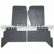 "Genuine 87~95 Range Rover Classic 100"" Short Wheel Base Rubber Floor Mat Mats"