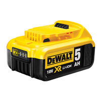 Batteria Originale Dewalt 18v 5AH litio DCB184