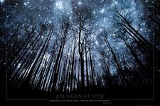 Imagination Keep Your Eyes on the Stars and Your Feet on the Ground Poster 24x36