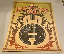 John Butler Trio RARE PROMO ONLY CARD STOCK PROMO POSTER SIGNED AUTOGRAPHED