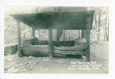 Tanning Vat—Santa Cruz CA RPPC Vintage General Fremont Photo ca. 1940s