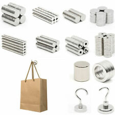 1-100pcs N52 10x3x3mm Strong Cylinder Magnet Rare Earth Neodymium Fridge Magnet