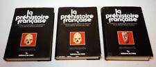 La Préhistoire française : Tomes I.1. et 2. Civilisations paléolithiques et