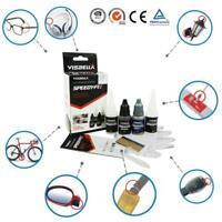 Visbella 7 Second Quick Bonding Fast Dry Glue Reinforcing Adhesive Speedy Fix