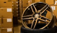 20 Zoll Yido Performance FF1 Flow Forged Bronze Concave Alu Felgen 5x112