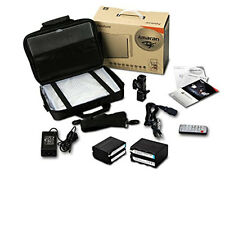 Aputure Amaran AL-HR672W LED Dimmable Video Light Panel HR-672W + 2 Batteries