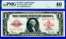FR-40 1923 $1  (( US Note )) PMG Extremely-Fine 40 # A64091568B