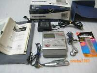 Panasonic SJ-MR50 MiniDisc MD Recorder Portable minidisc MDLP Remote Headphones