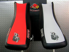 HONDA TRX 300ex TRX 300X grim reaper GRIPPER seat cover fits 2007 and up years