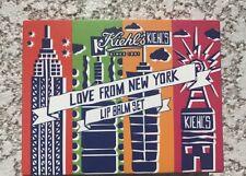 Kiehl's Lip Balm Set of 4 : Original, Pear, Mango, Cranberry NIB