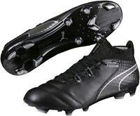 Puma One 17.1 Firm Ground Mens Football Boots - Black