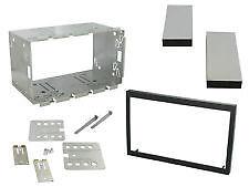 Dfpk-113 113 mm Universal Xtrons Doble Din Cage Kit Fascia Faca Adaptador headunit