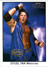 TNA AJ Styles #98 OBAK Retro Card Short Print LE /600 2010 Tristar New Era DWC
