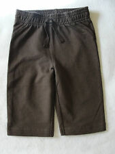 Infant Girls Jumping Beans Brown Knit Pants - Size 6 mo. - NWT