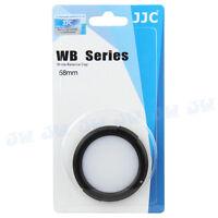 JJC White Balance Cap For 58mm Sony Nikon Canon Fujifilm Olympus Camera lens