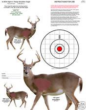 Rangefinder Scope Sight-in rifle targets deer simulator x6
