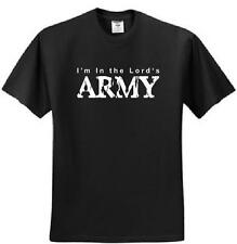 Im in the Lords Army Jesus Christ Christian t-shirt God t-shirts Bible