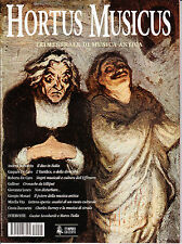 HORTUS MUSICUS n. 5 gennaio - marzo 2001 Trimestrale di Musica Antica