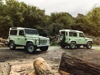 LAND ROVER DEFENDER 90 & 110 'HERITAGE RETRO POSTER PRINT CLASSIC ADVERT A3