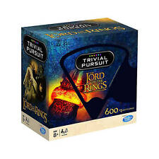 Trivial Pursuit Lord Of The Rings Edition 600 Questions In A Bite Sized Wedge