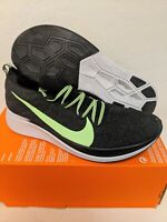 Nike Zoom Fly Flyknit Men's Running Shoes Black/Green Size 13 AR4561-003 NEW