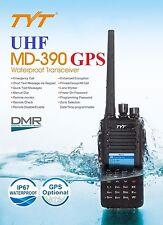 TYT MD-390 DMR 400-480UHF GPS IP67 Analog Dual Band Funkgerät 1000CH > MD 380