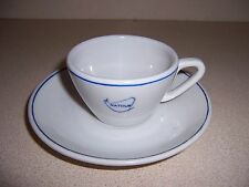 Vtg Natour Hotel Indonesia Restaurant-Ware China Cup & Saucer by T.G. Pandan