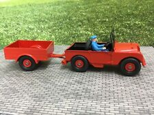 Dinky Farm Final Version Land Rover And Trailer(repaint)