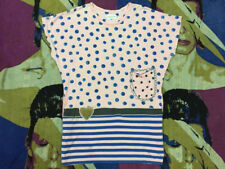 TSUMORI CHISATO JAPANESE DESIGNER DRESS ISSEY MIYAKE POLKA-DOT PATCHWORK POCKET