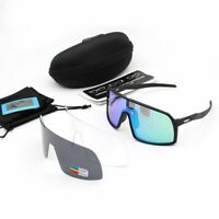 3 Lens Polarized Sunglasses Sutro Cycling Glasses Cycling Goggles UV400 Cycling