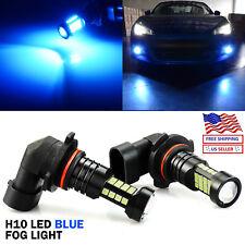JDM ASTAR 2x H10 9145 LED 8000K Blue Fog Driving Running Lights Bulbs High Power