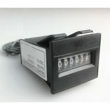 12V 6 digit Mechanical coin meter counter for arcade operated Vending machine DH