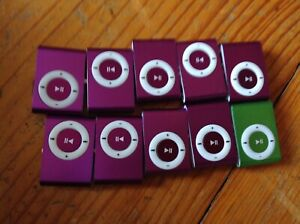 Lot:of 10 mini player, MP3  new old stock