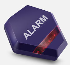 Dummy Burglar Alarm Box - Solar Powered Dummy Alarm Siren Flashing LED Lights
