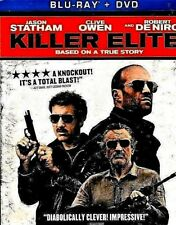 Killer Elite Blu-Ray + DVD + PB 2012 NEW FACTORY SEALED FREE SHIP TRACKING US