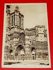 CPA CARTE POSTALE 1937 TROYES CATHEDRALE AUBE CHAMPAGNE ARDENNE FRANCE 10