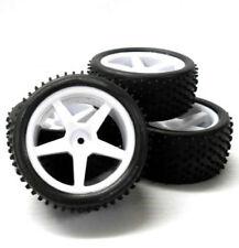 Châssis, transmissions et roues vert pour véhicule radiocommandé 1/10