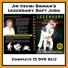 Legendary Soft Judo with Shihan Jin Iizumi (Rare) 3 Dvd Set