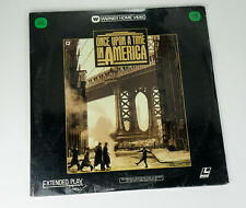 Once Upon a Time In America C'era una volta Laser disc Extended Play
