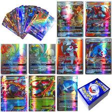 120Pcs Pokemon Cards 115 GX+5 MEGA Holo Flash Trading Cards Bundle Mixed LOT