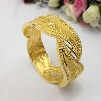 Indian 22ct Gold Plated Bangle Single Kada Size:2.8 Bridal Party Wear Jewellery